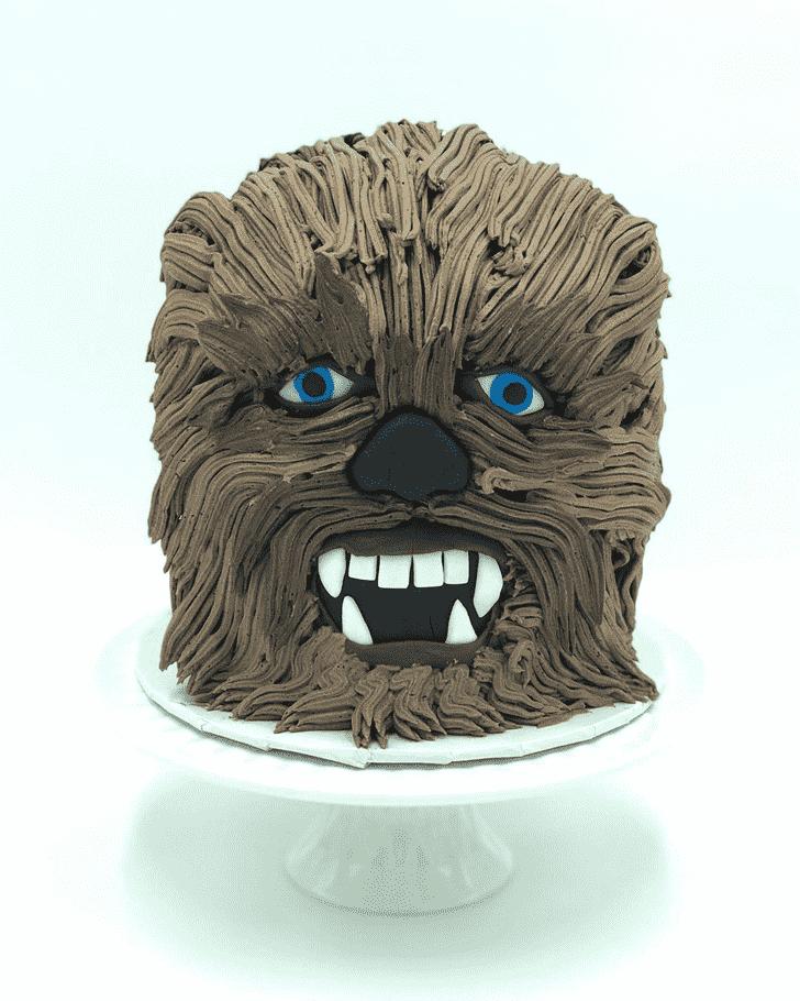 Dazzling Chewbacca Cake