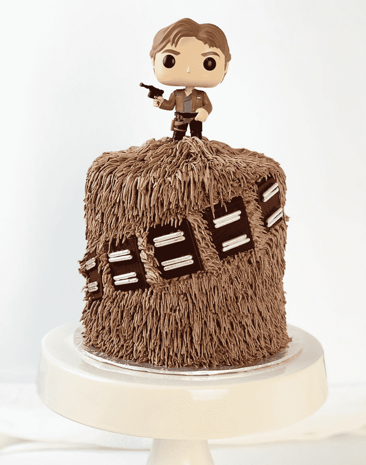 Enthralling Chewbacca Cake