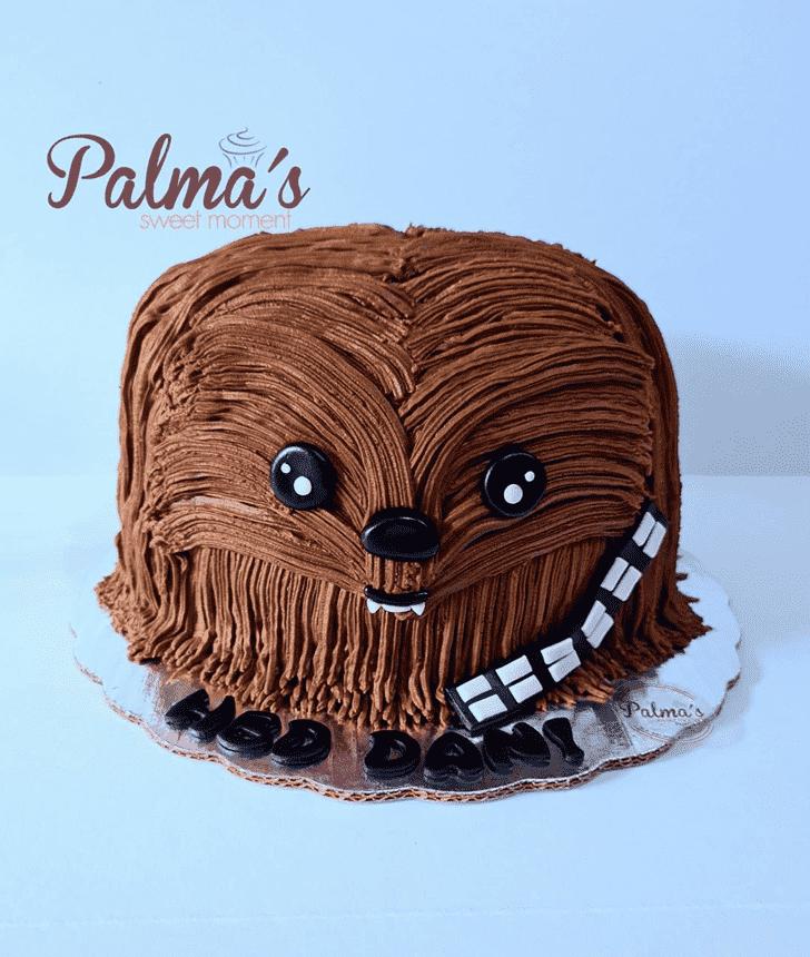 Fair Chewbacca Cake