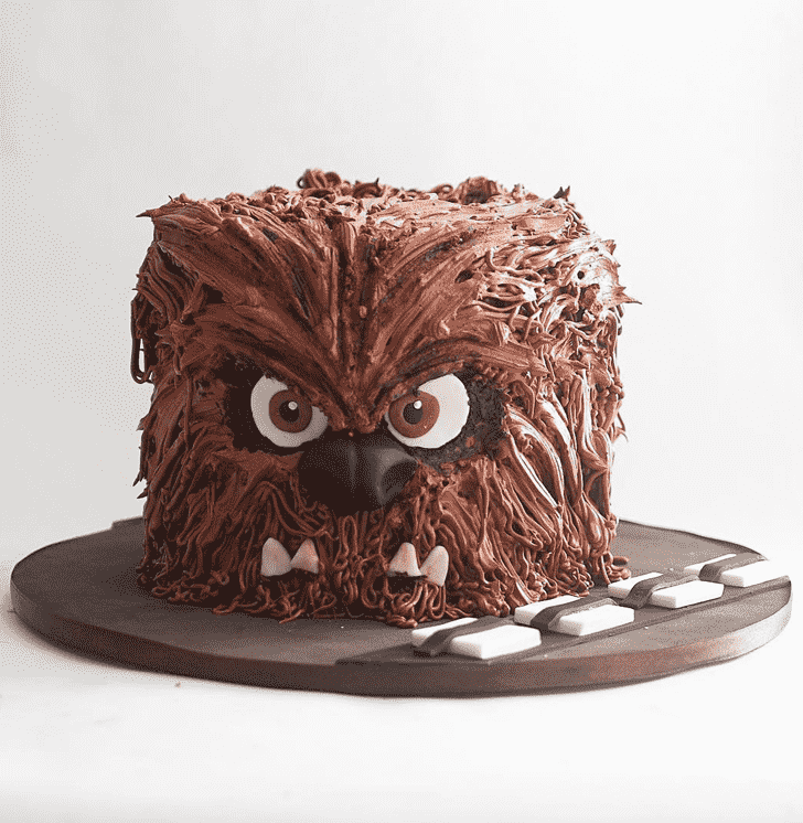 Fascinating Chewbacca Cake