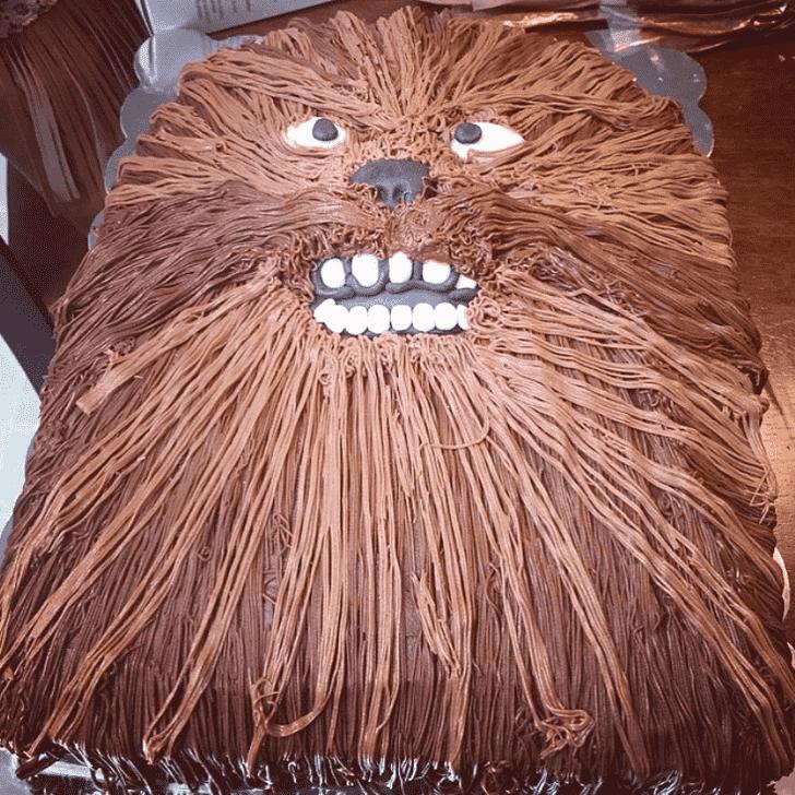 Fine Chewbacca Cake
