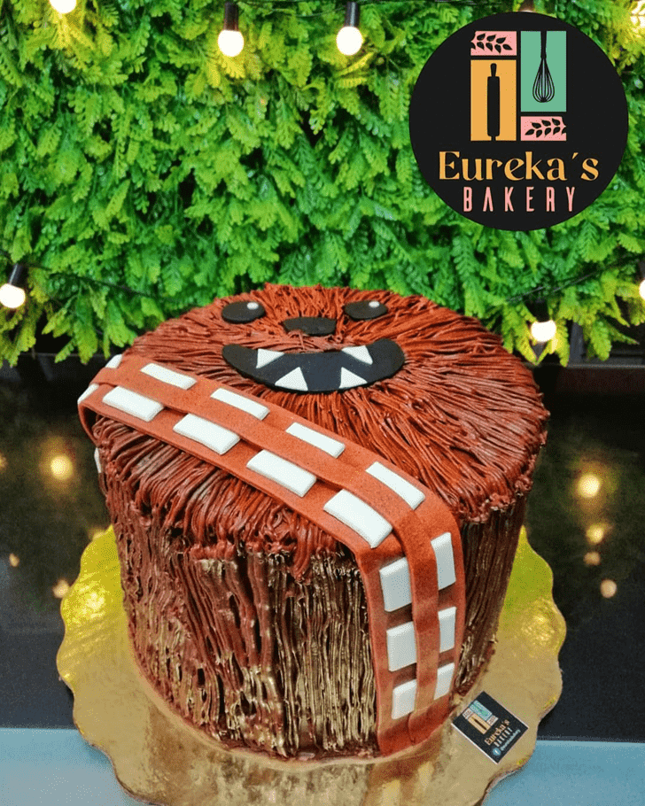 Nice Chewbacca Cake