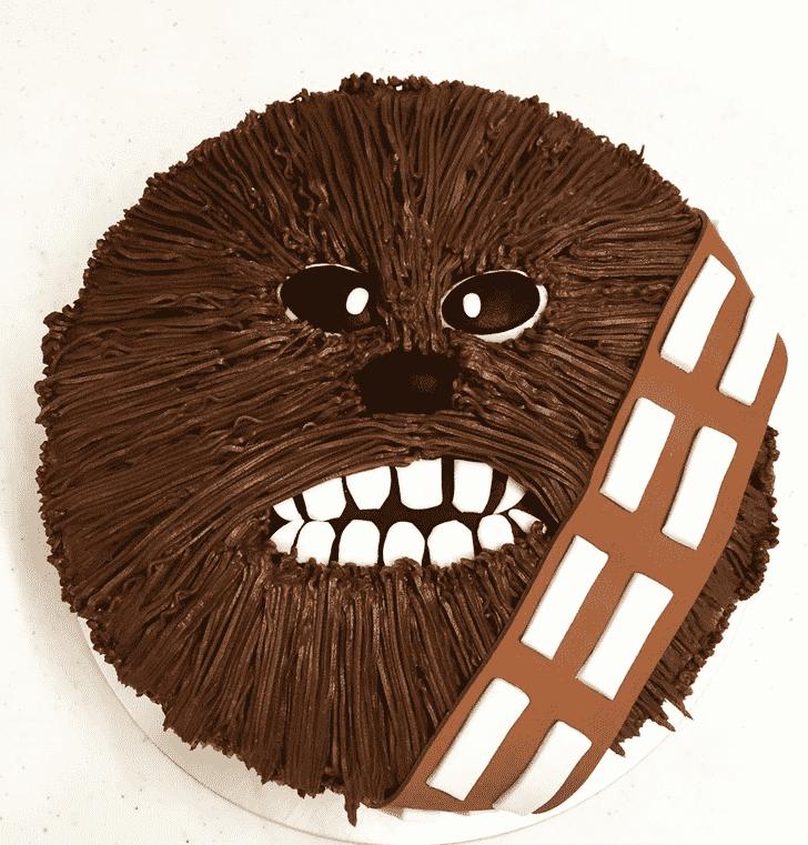 Resplendent Chewbacca Cake