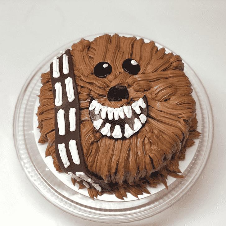 Shapely Chewbacca Cake