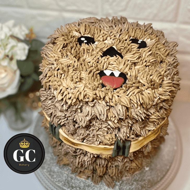 Stunning Chewbacca Cake