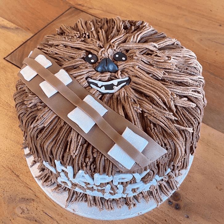 Superb Chewbacca Cake