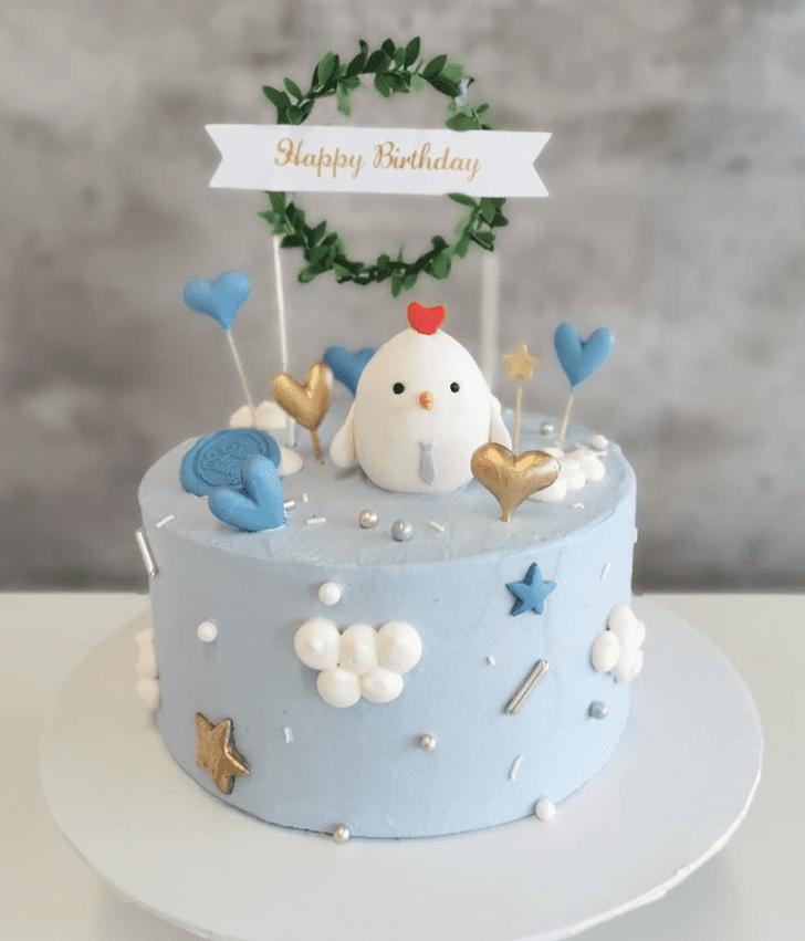 Adorable Chick Cake