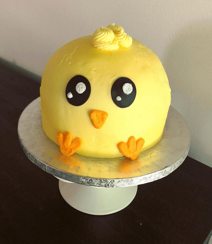 Alluring Chick Cake