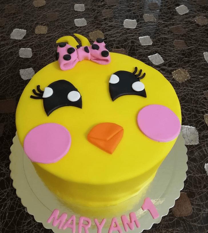 Angelic Chick Cake