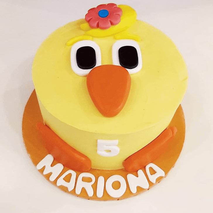 Bewitching Chick Cake