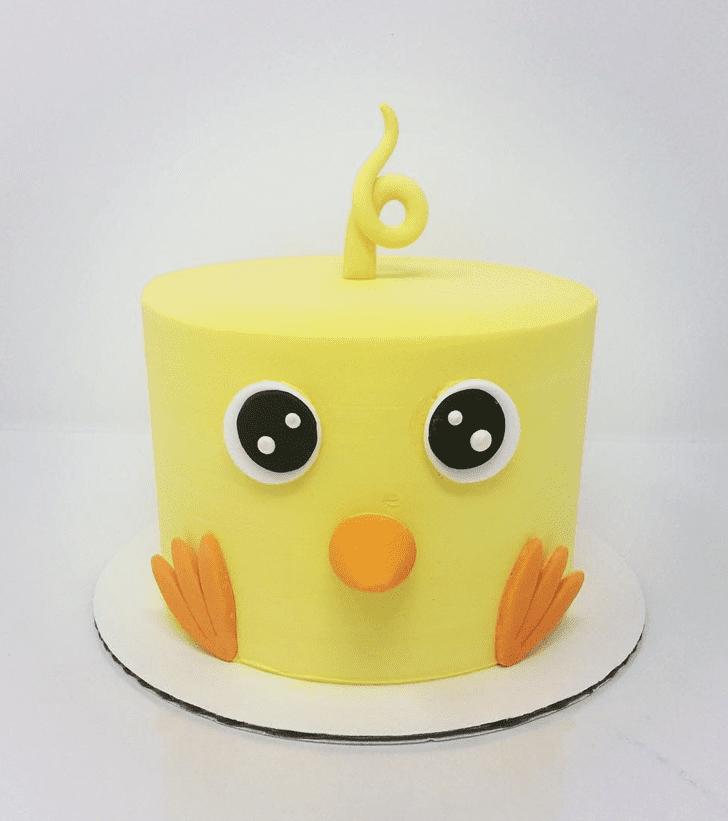 Classy Chick Cake