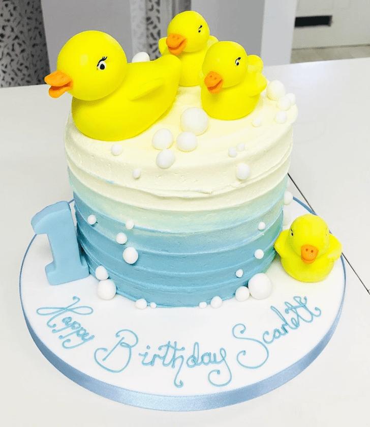 Delightful Chick Cake
