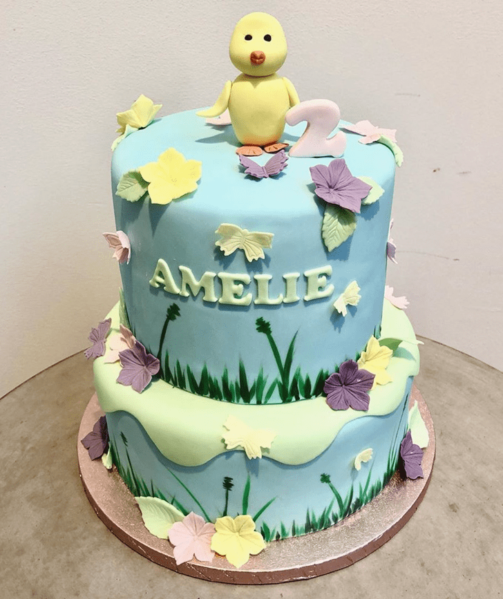 Divine Chick Cake