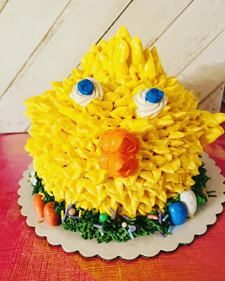 Enticing Chick Cake
