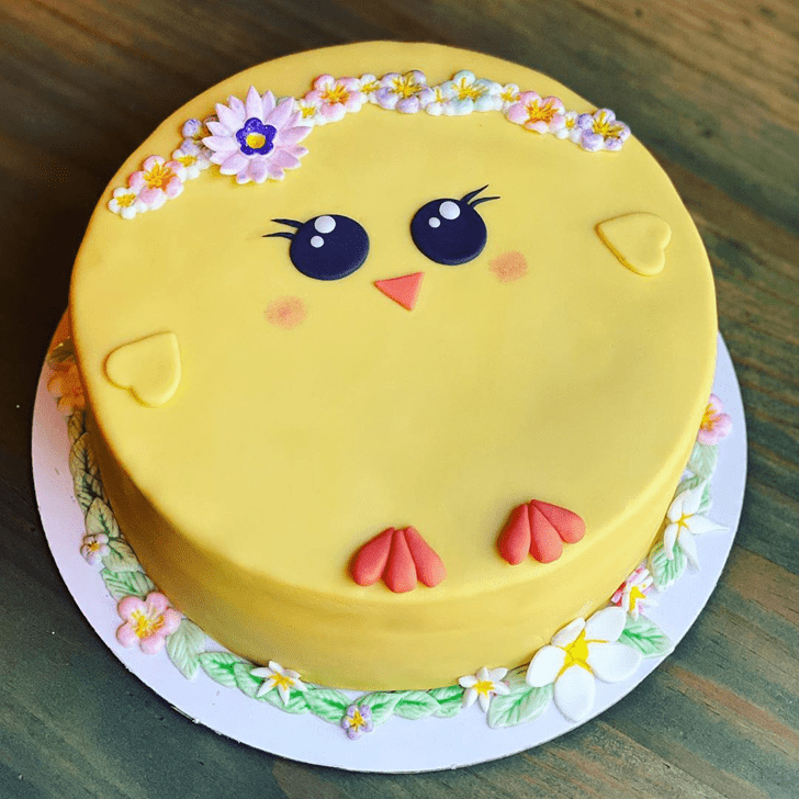 Excellent Chick Cake