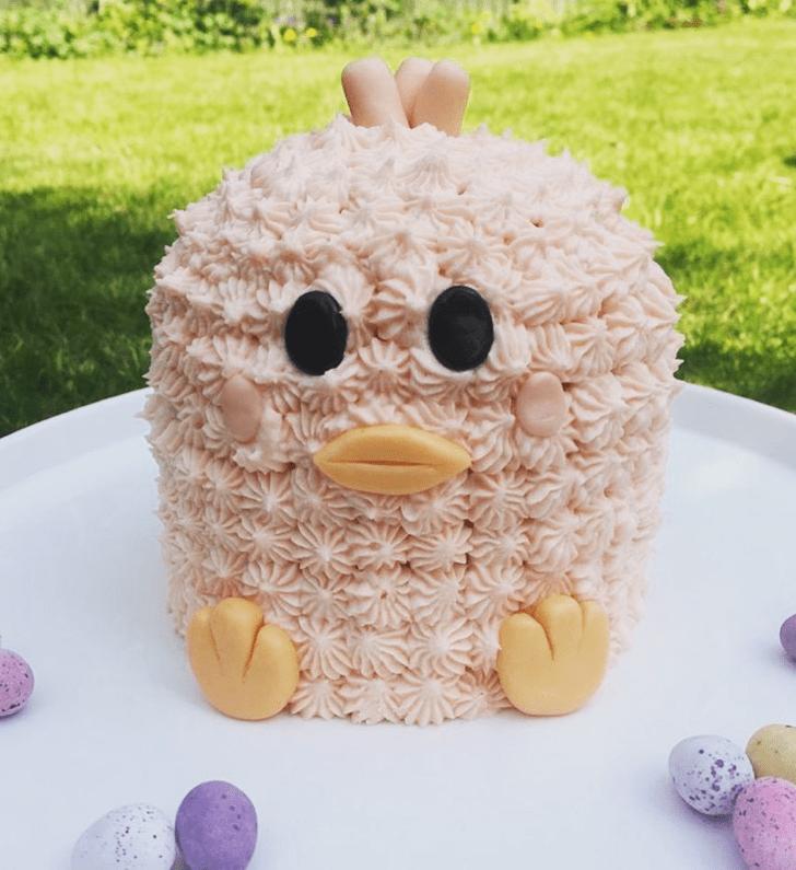 Graceful Chick Cake