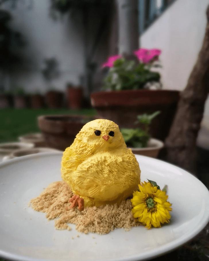Inviting Chick Cake