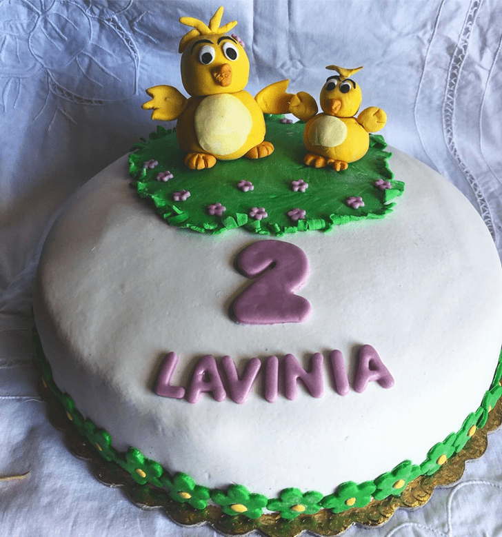 Magnetic Chick Cake