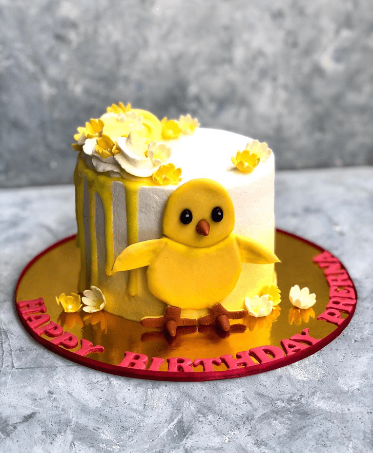 Marvelous Chick Cake