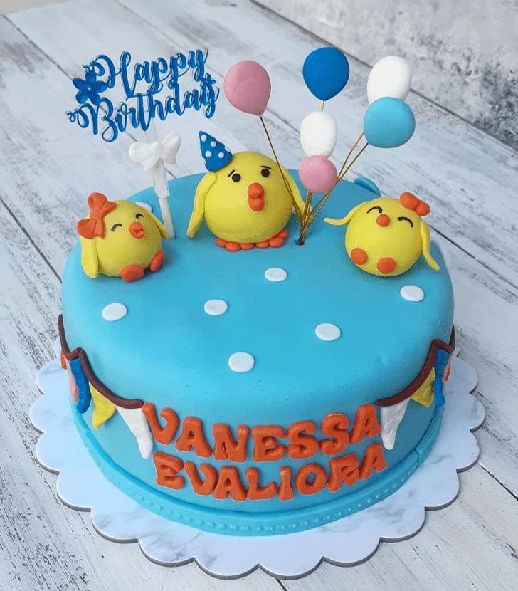 Mesmeric Chick Cake