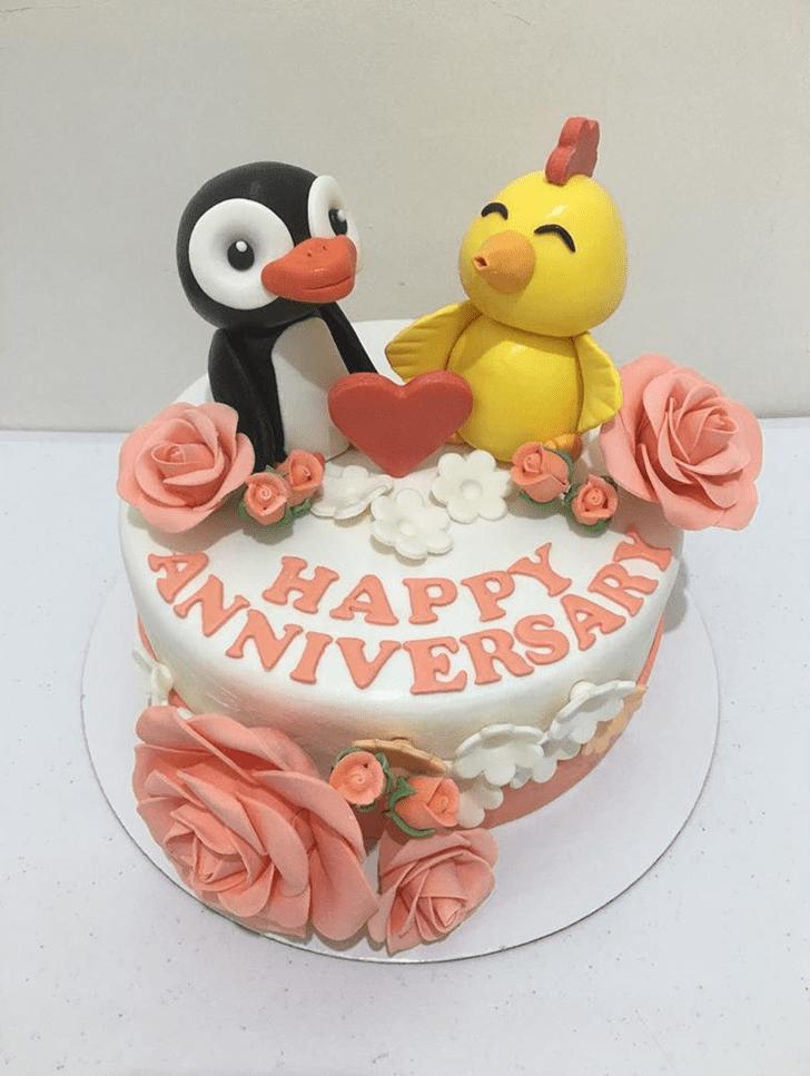 Pretty Chick Cake