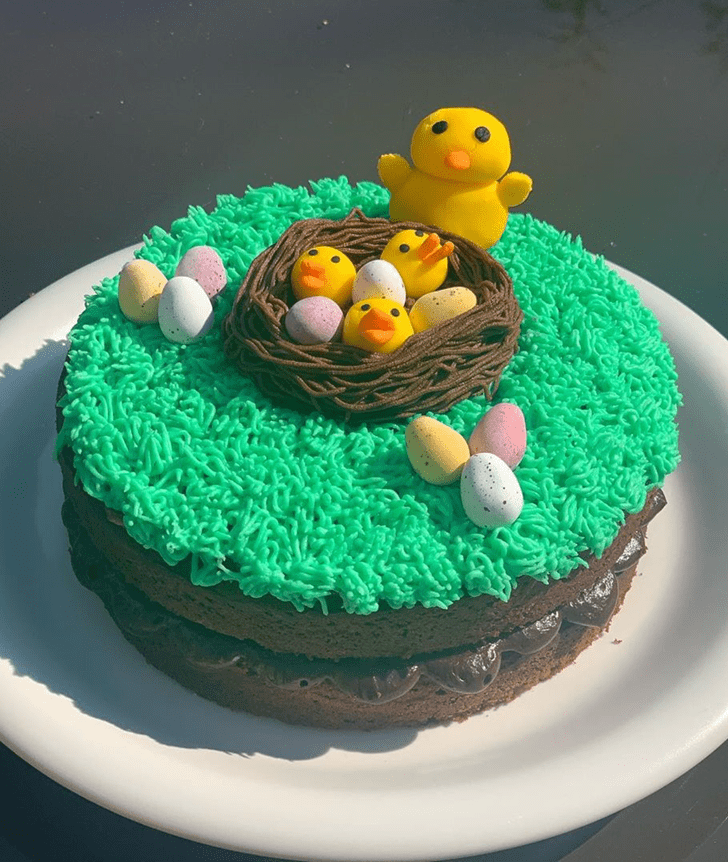 Refined Chick Cake