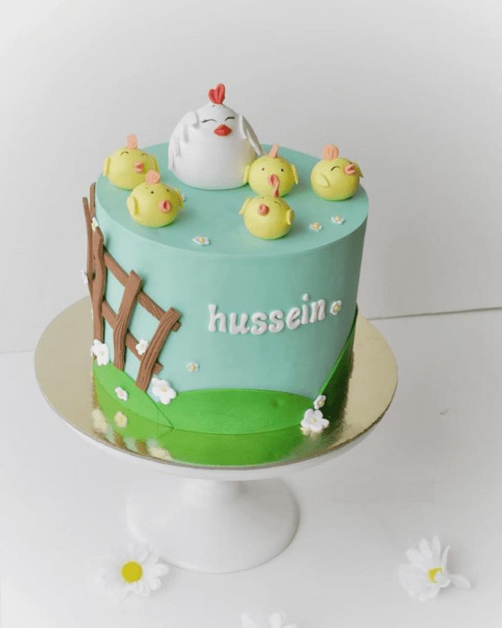 Resplendent Chick Cake