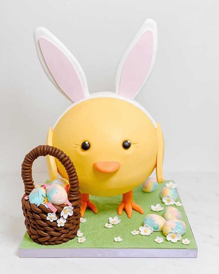 Wonderful Chick Cake Design