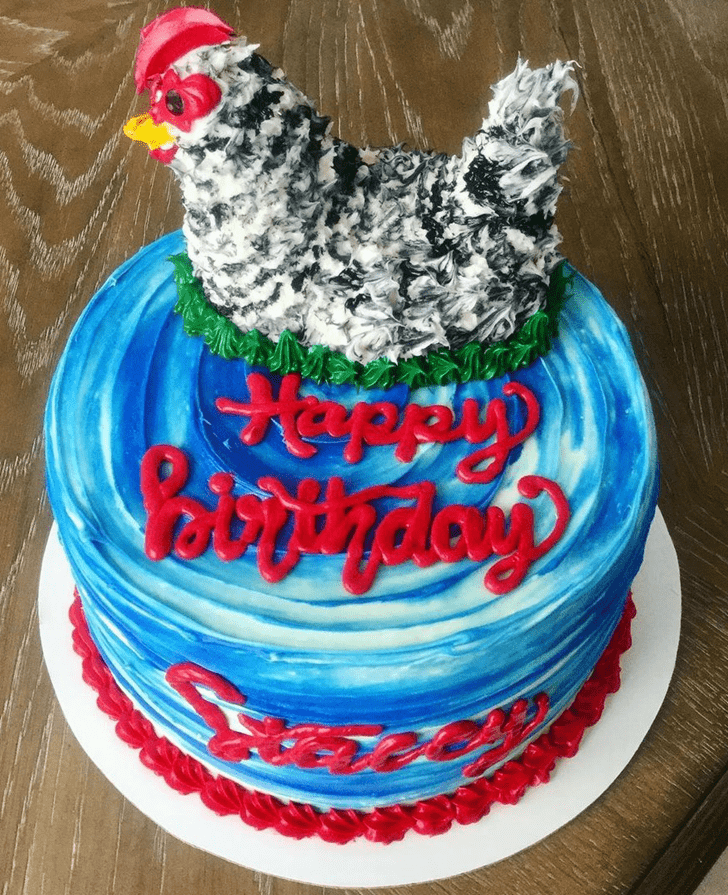 Charming Chicken Cake