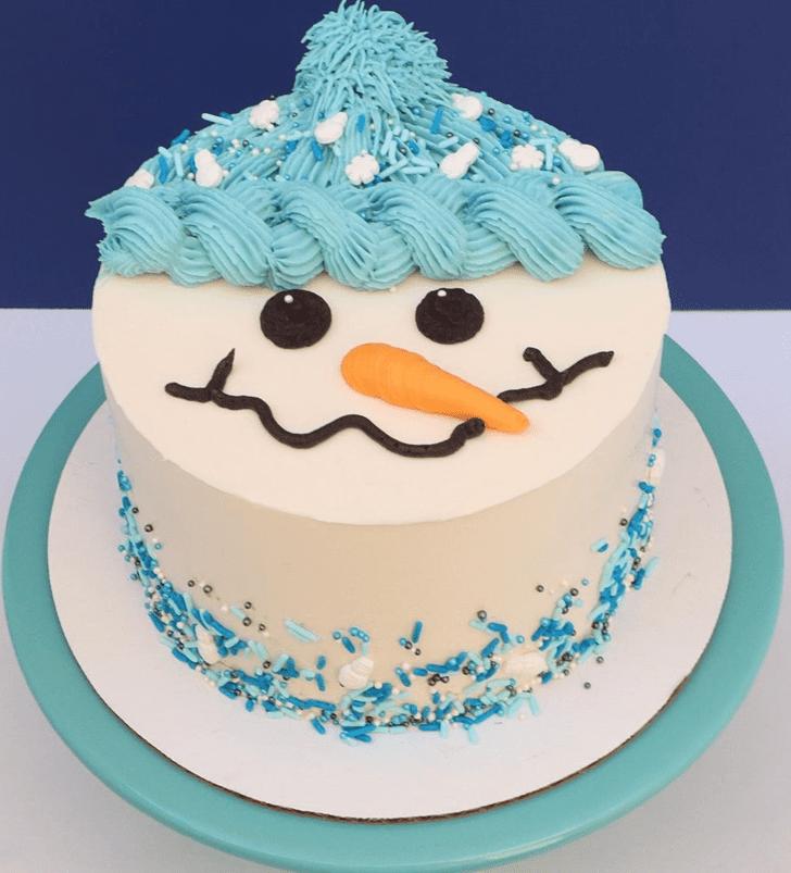 Alluring Christmas Cake