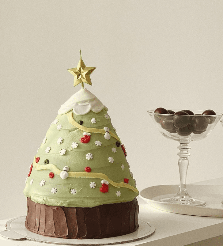 Appealing Christmas Cake