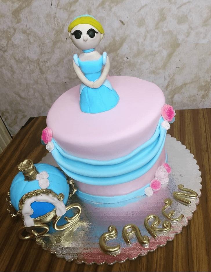 Adorable Cinderella Cake