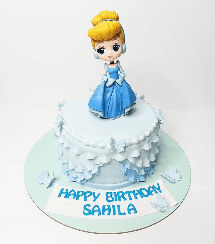 Alluring Cinderella Cake