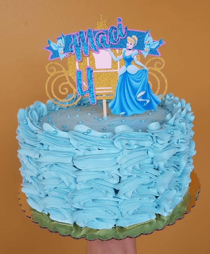 Beauteous Cinderella Cake