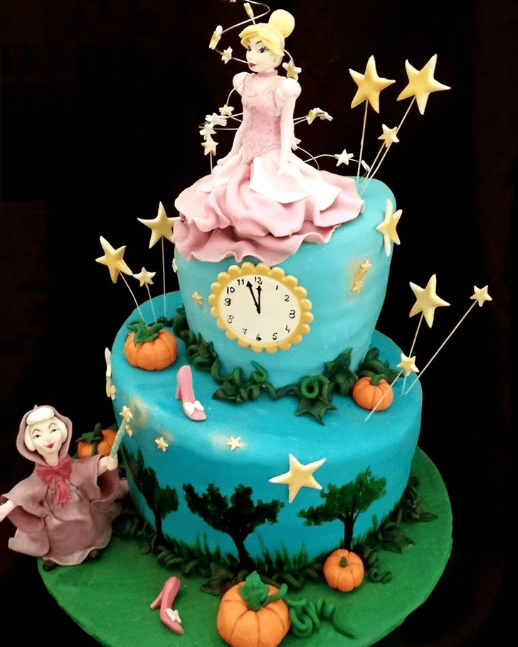 Classy Cinderella Cake