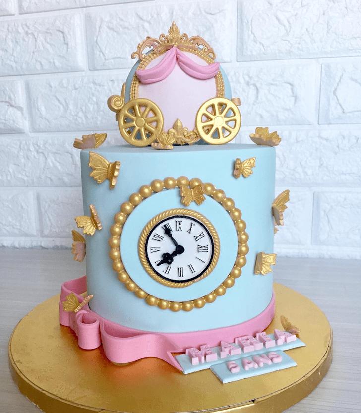 Dazzling Cinderella Cake