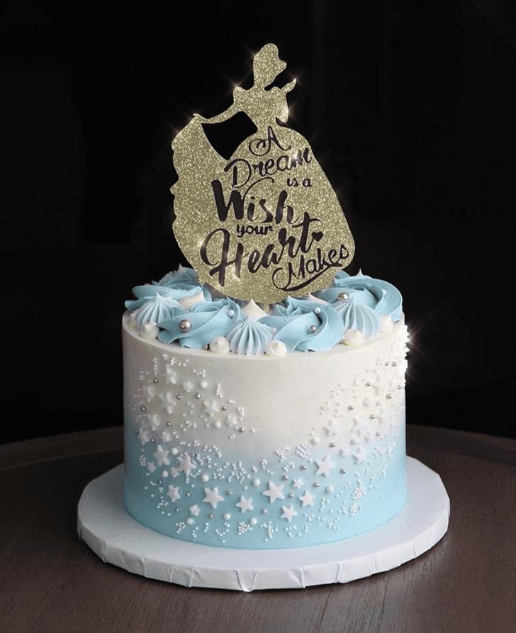 Delightful Cinderella Cake