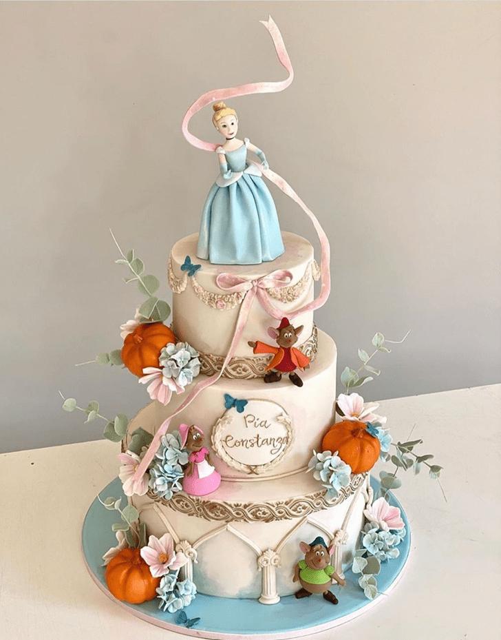Divine Cinderella Cake