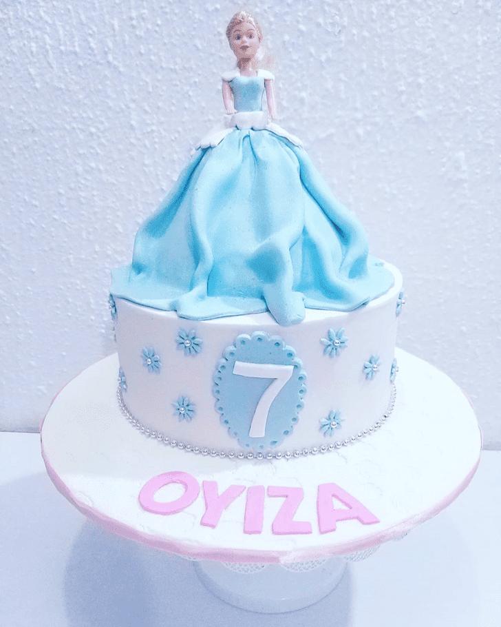 Enticing Cinderella Cake