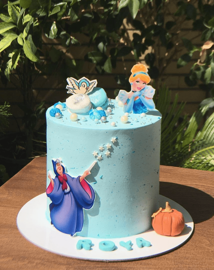 Excellent Cinderella Cake