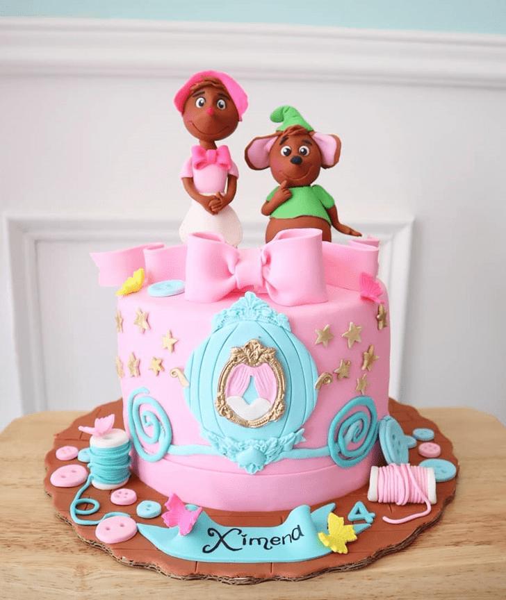 Gorgeous Cinderella Cake