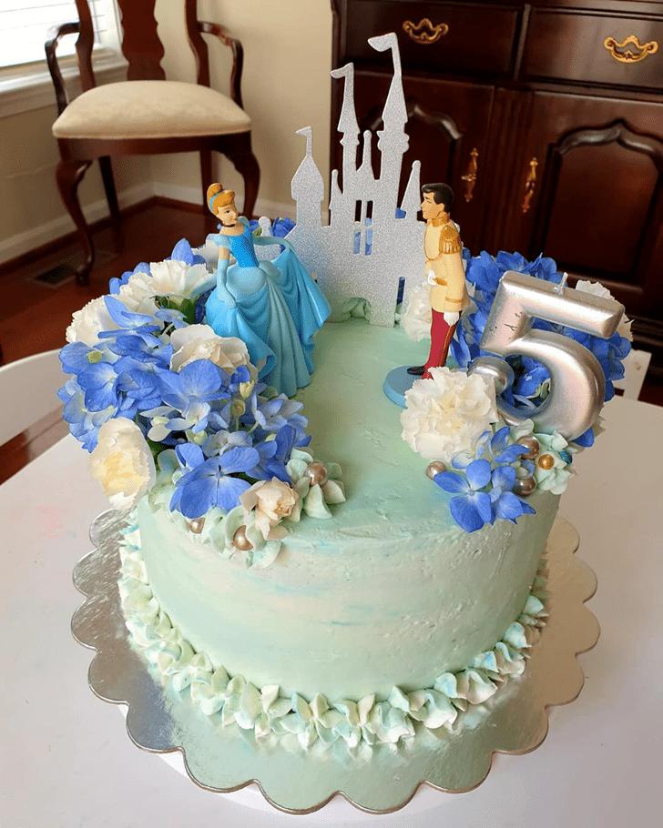 Mesmeric Cinderella Cake
