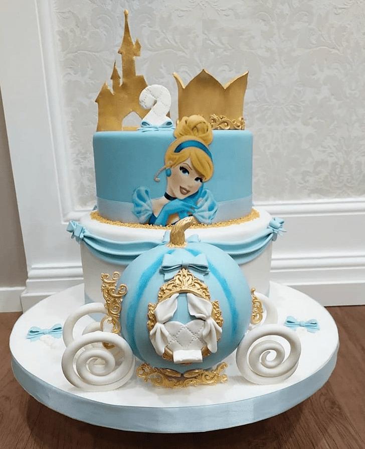 Pretty Cinderella Cake