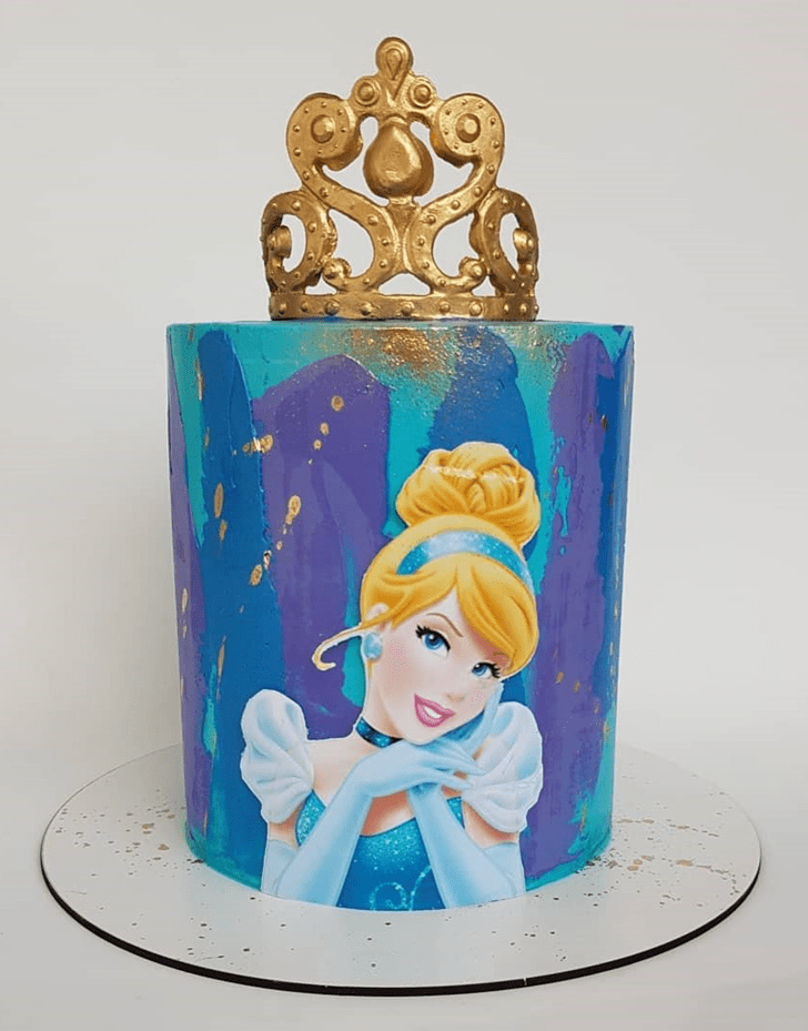 Slightly Cinderella Cake