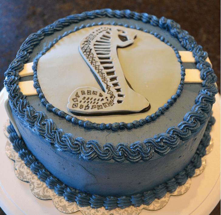 Adorable Cobra Cake