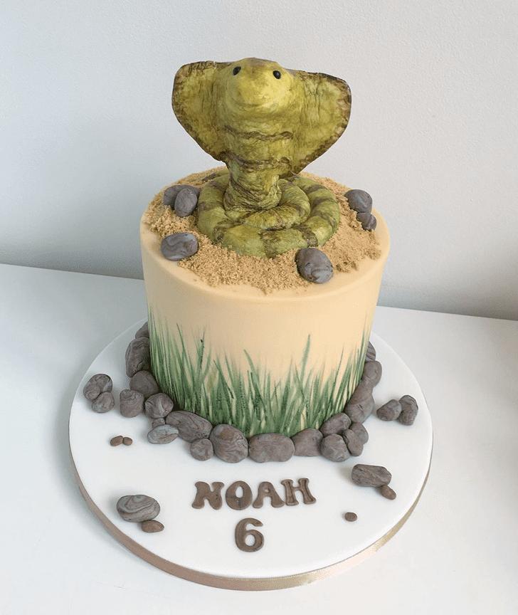 Beauteous Cobra Cake