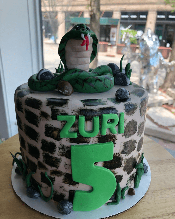 Divine Cobra Cake