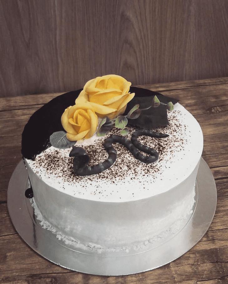 Elegant Cobra Cake
