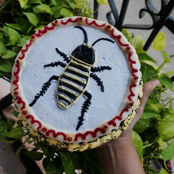 Adorable Cockroach Cake