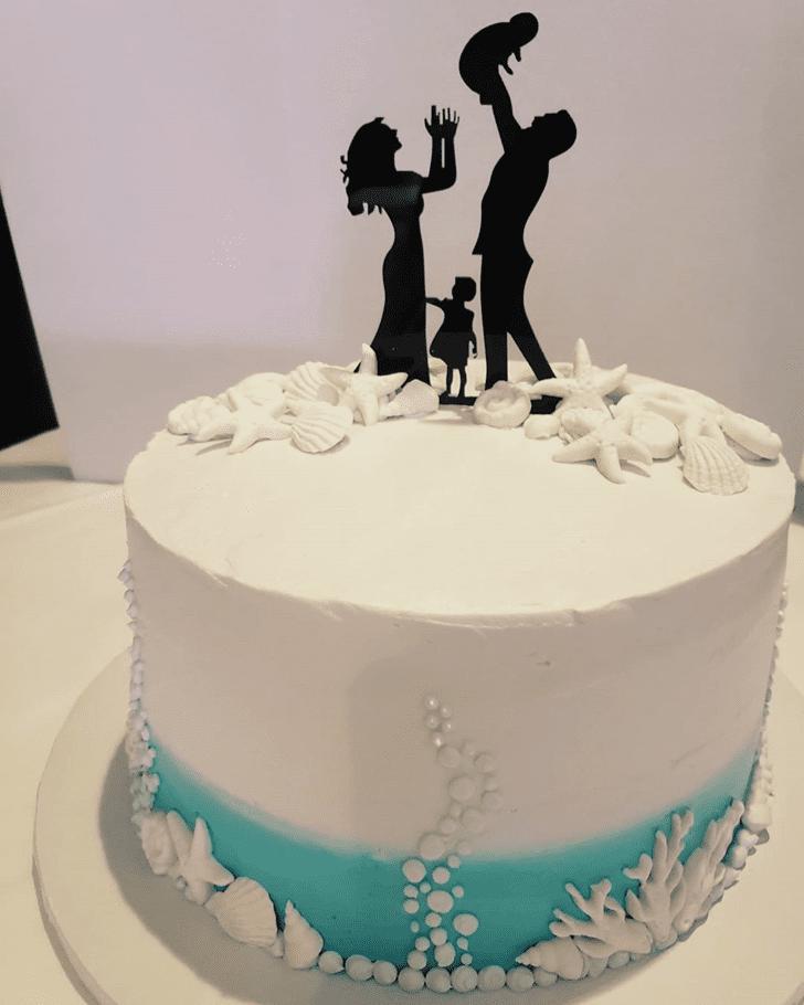 Divine Coral Cake